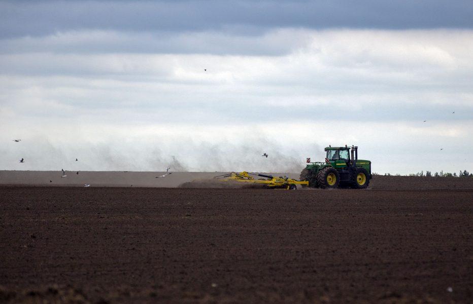 Ukrainas svarta jord kan bli till salu.