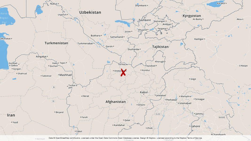 Majoriteten av den svenska insatsen befinner sig utanför Mazar-i-Sharif.