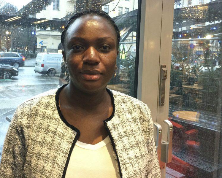 """Irene Naaikali, programchef för Hungerprojektet, var i Stockholm i december för att berätta om jordbruksprojektet """"Inga konstigheter – ett giftfritt jordbruk""""."""