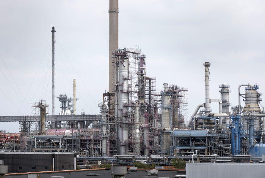 Preemraff, Preems oljeraffinaderi i Lysekil.
