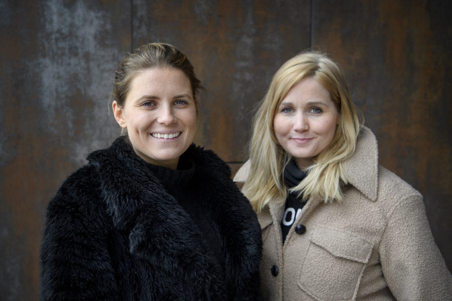 """Ida Malmlöf och Malin Fors har startat Facebookgruppen """"Corona – hjälp till med inköp av livsmedel till riskgrupper"""" som också har lett till att många lokala grupper har bildats."""