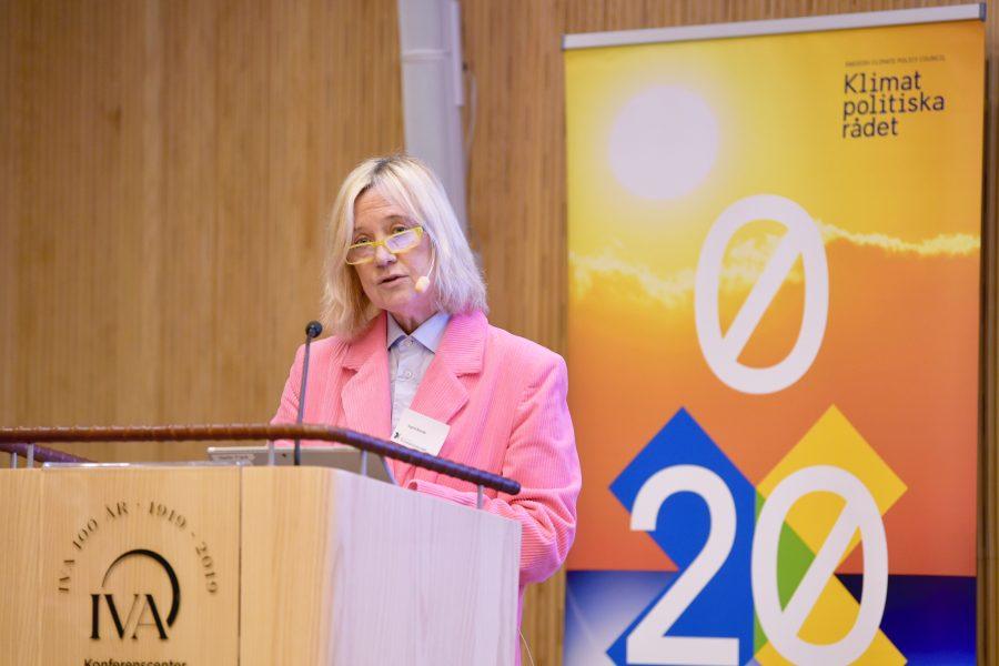 Ingrid Bonde, ordförande iKlimatpolitiskarådet.
