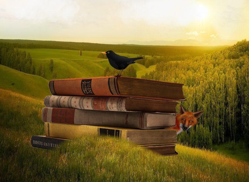 Vad händer med vår syn på naturen om vi börjar se på den som en medskapare till litteratur? Illustration: Pixabay.