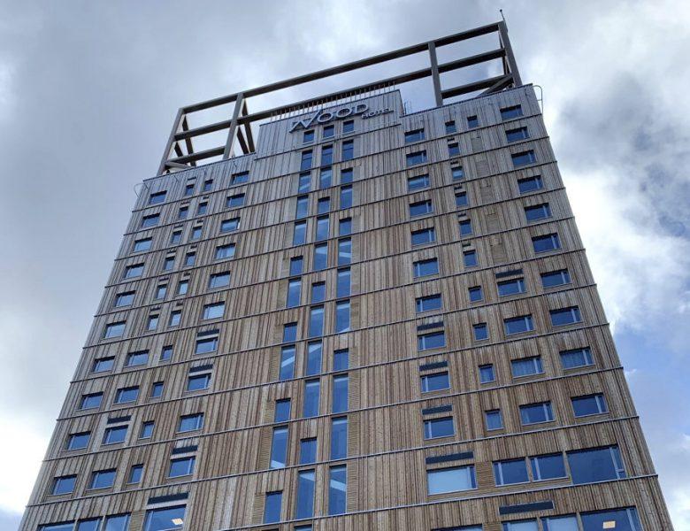 Wood Hotel i norska Brumundal är världens högsta trähus.