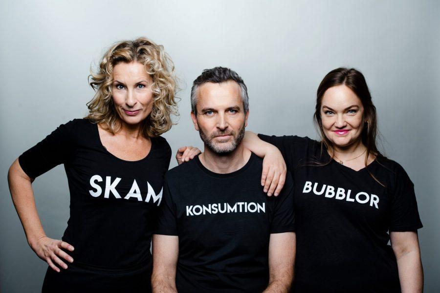 FörfattarnaKatarina Graffman, Jacob Östberg och Emma Lindblad tarpulsen på samtiden och blickar framåt.