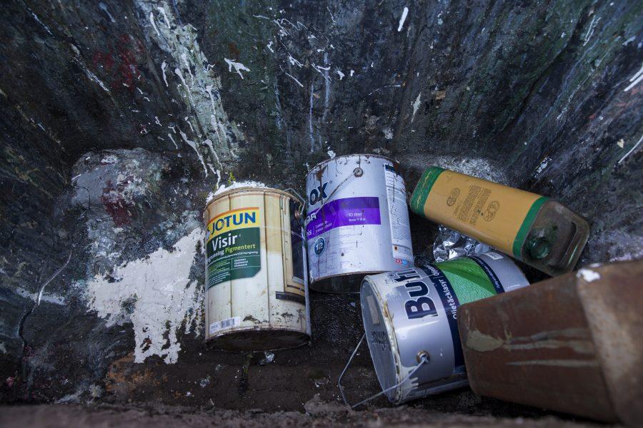 Under våren har användningen av farligt avfall i Göteborg ökat.