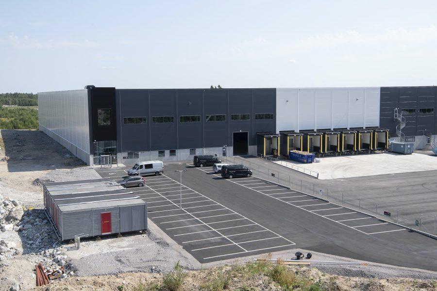 Här, i Eskilstuna, tror man att Amazon kommer att öppna upp sitt första lager.