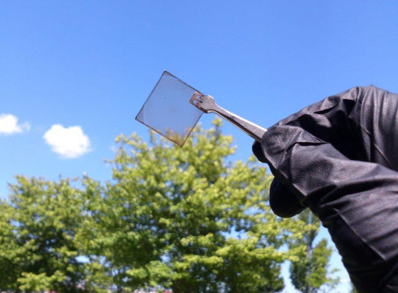 På olika håll i världen dyker det nu upp olika tekniker för genomskinliga och halvgenomskinliga solceller.