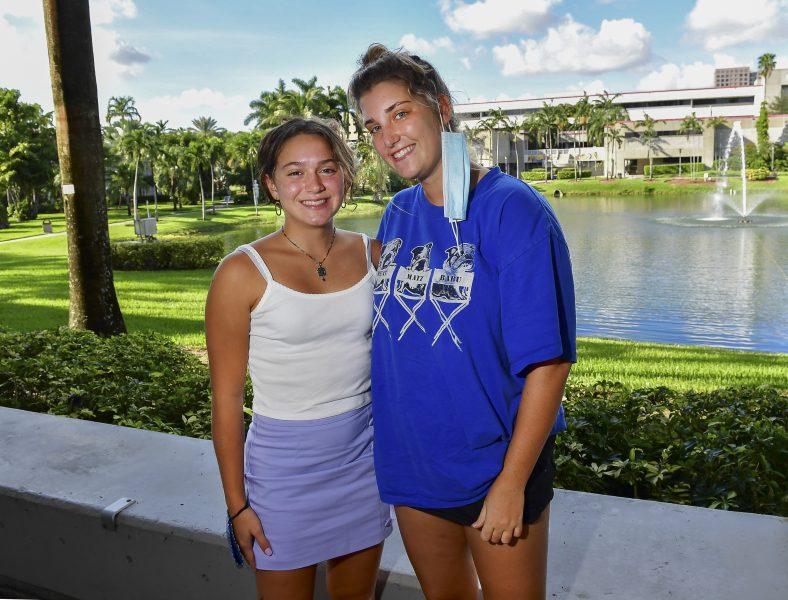 Jane Osowski från Wisconsin läser biologi vid Florida International University i Miami.
