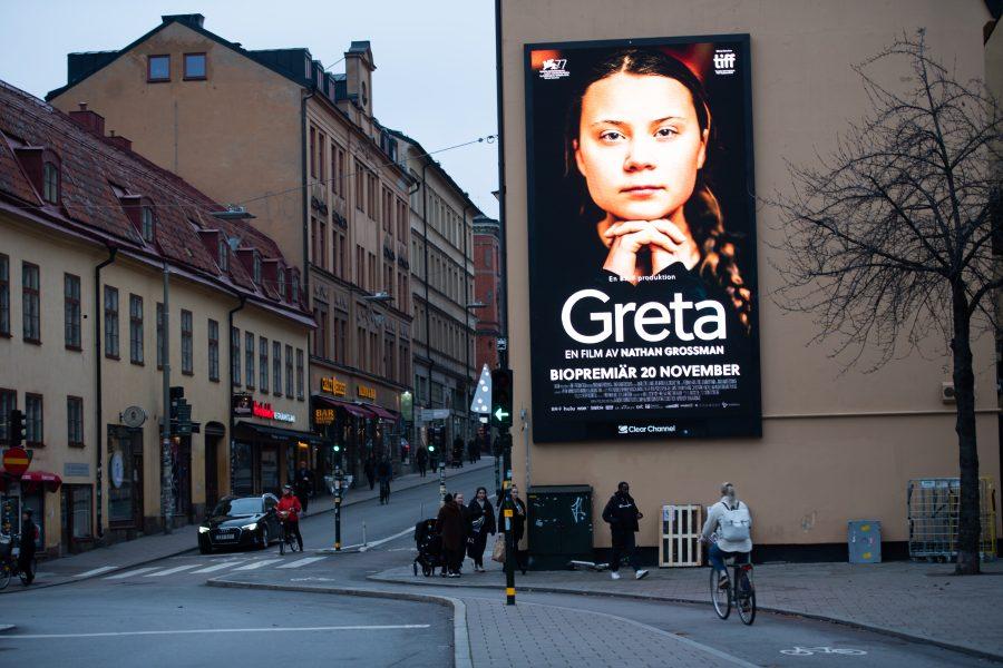 Dokumentären Greta av Nathan Grossman hade biopremiär 20 november.