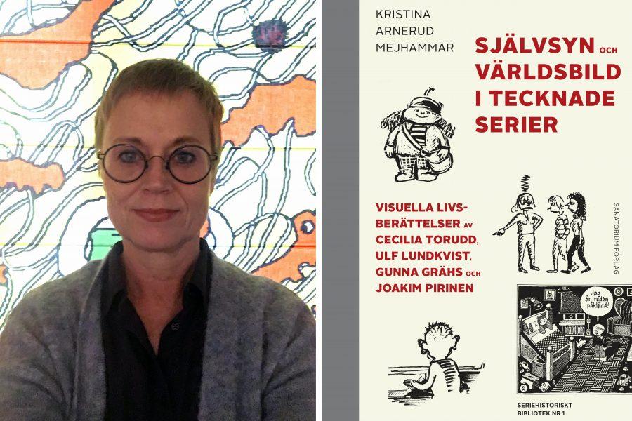 Kristina Mejhammar har doktorerat med avhandlingen Självsyn och världsbild i tecknade serier där hon går igenom fyra svenska serietecknares verk med fokus på det självbiografiska.