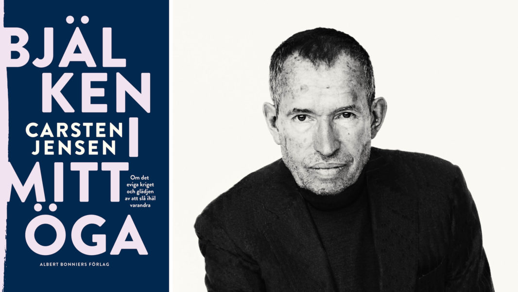 Carsten Jensen tar upp frågor om ondska, krig, terrorism och våld i sin nya debattbok Bjälken i mitt öga.