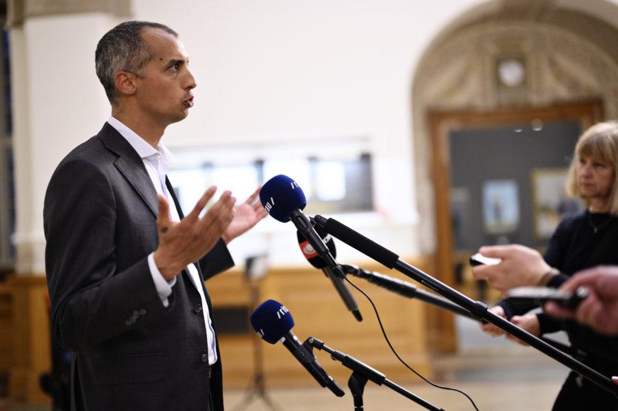 Den danska invandrings- och integrationsministern Mattias Tesfaye (S).