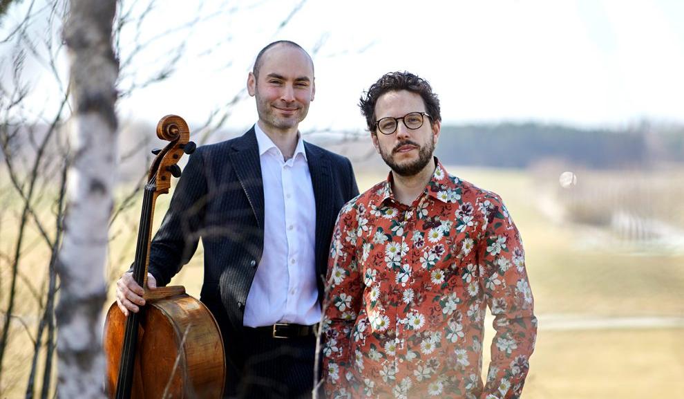 De konstnärliga ledarna på Järna Festival Academy – Peter Friis Johansson och Jakob Koranyi.