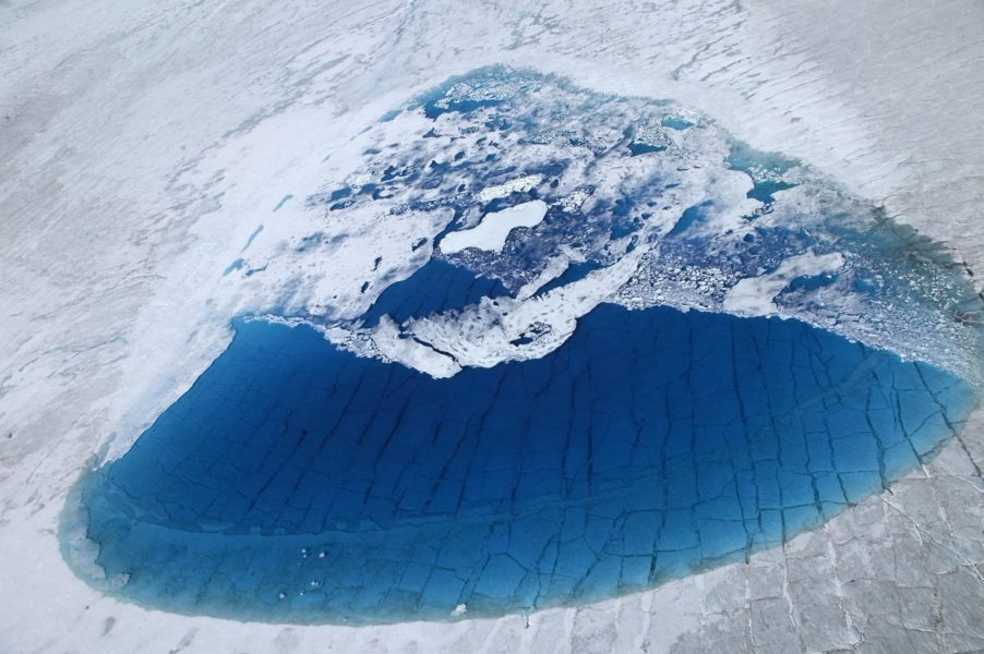 Bo Ekman har själv besökt Grönland för att se uppvärmningens effekter med egna ögon.